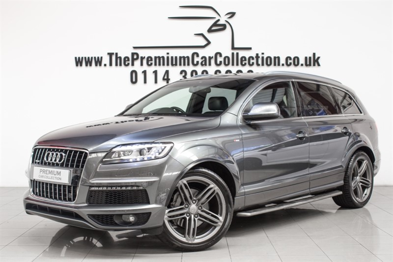 used Audi Q7 TDI QUATTRO S LINE PLUS SAT NAV HEATED LEATHER XENON