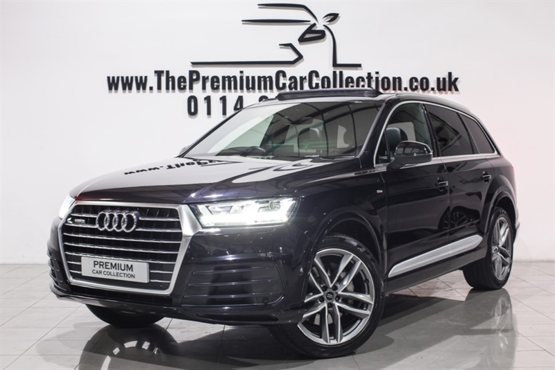 used Audi Q7 TDI QUATTRO S LINE PAN ROOF VIRTUAL COCKPIT SAT NAV
