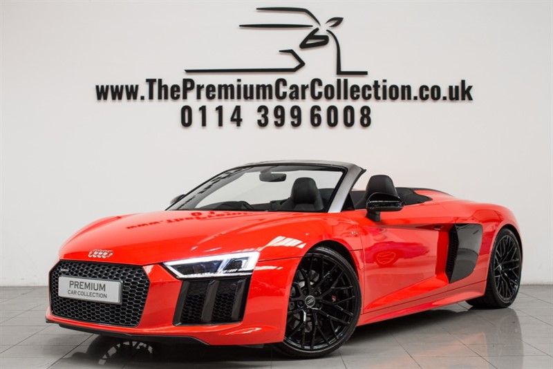 used Audi R8 SPYDER V10 QUATTRO MAG RIDE SPORTS EXHAUST 20