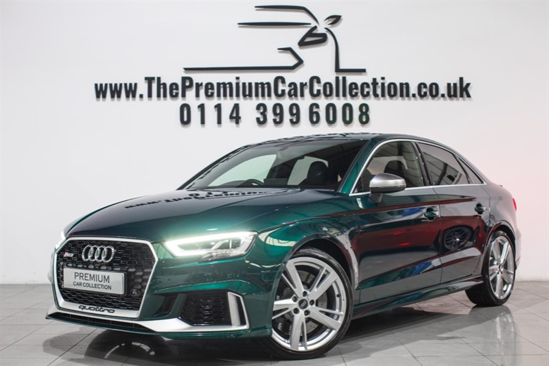 used Audi  RS 3 TFSI QUATTRO VIRTUAL COCKPIT SPORTS SEATS SAT NAV CAR PLAY