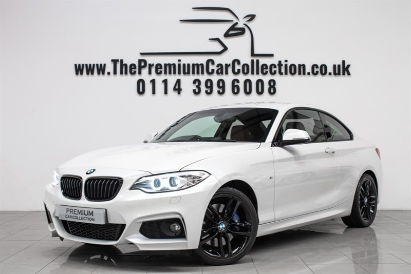 used BMW 218i M SPORT PLUS PRO SAT NAV HARMAN KARDON PRIVACY