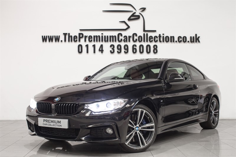 used BMW 430d M SPORT PLUS PRO SAT NAV ONE OWNER 19' ALLOYS FBMWSH