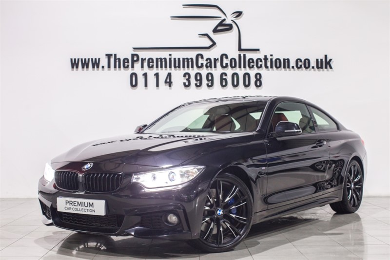used BMW 430d M SPORT PRO SAT NAV HEATED LEATHER 1 OWNER