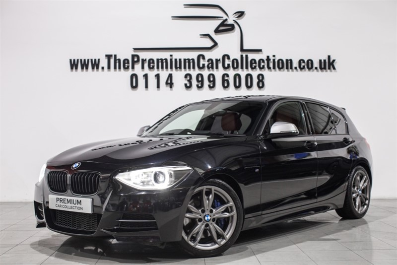 used BMW M135i M PERFORMANCE SAT NAV XENONS PRIVACY LEATHER