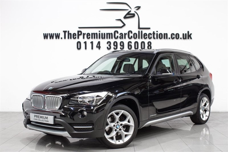 used BMW X1 XDRIVE18D X-LINE LEATHER DAB 18