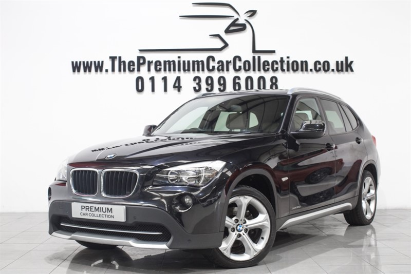 used BMW X1 SDRIVE18D SE HEATED LEATHER PARKING SENSORS