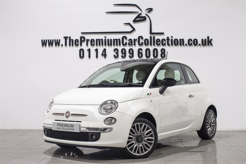 used Fiat 500 CULT PAN ROOF LEATHER BLUETOOTH