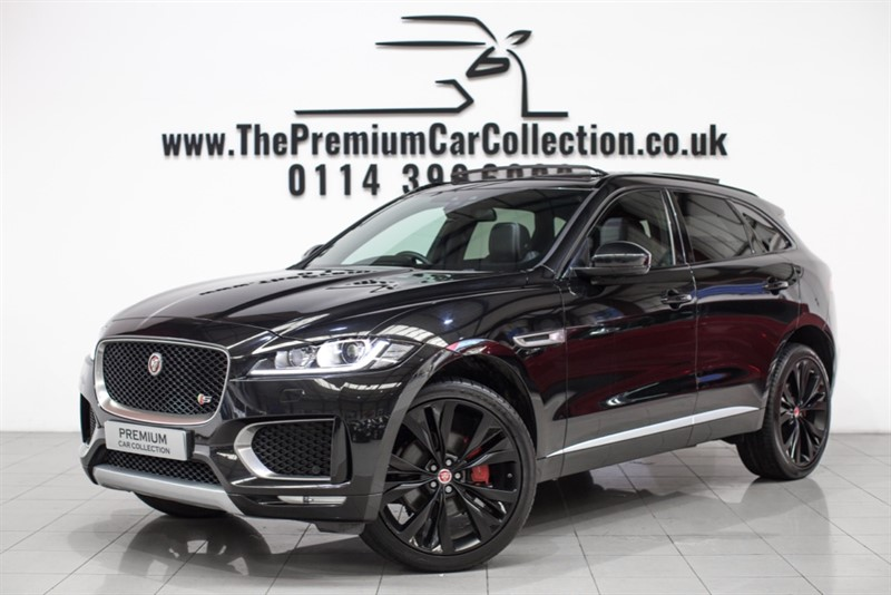 used Jaguar F-Pace V6 S AWD PAN ROOF HUGE SPEC ONE OWNER 22