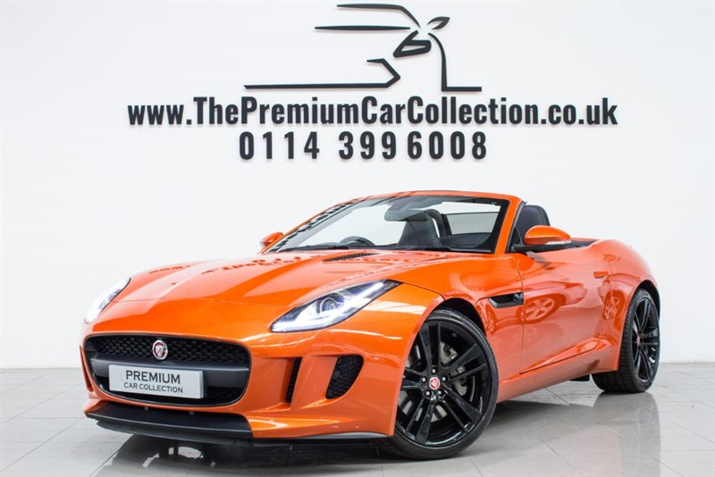 used Jaguar F-Type NOW SOLD DELIVERING TO HULL
