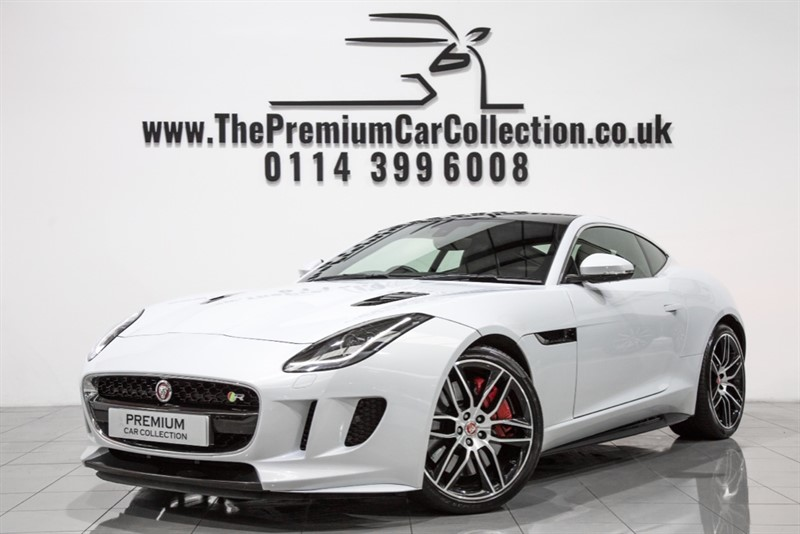 used Jaguar F-Type V8 R AWD DESIGN PACK PAN ROOF SAT NAV