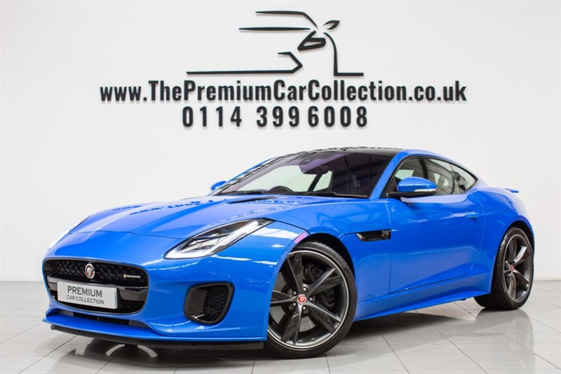 used Jaguar F-Type V6 R-DYNAMIC PAN ROOF SAT NAV 20' CARBON WHEELS