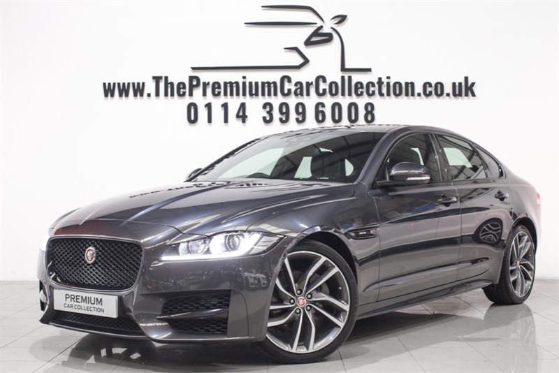 used Jaguar XF D R-SPORT ONE OWNER SAT NAV BLACK PACK DAB FJSH