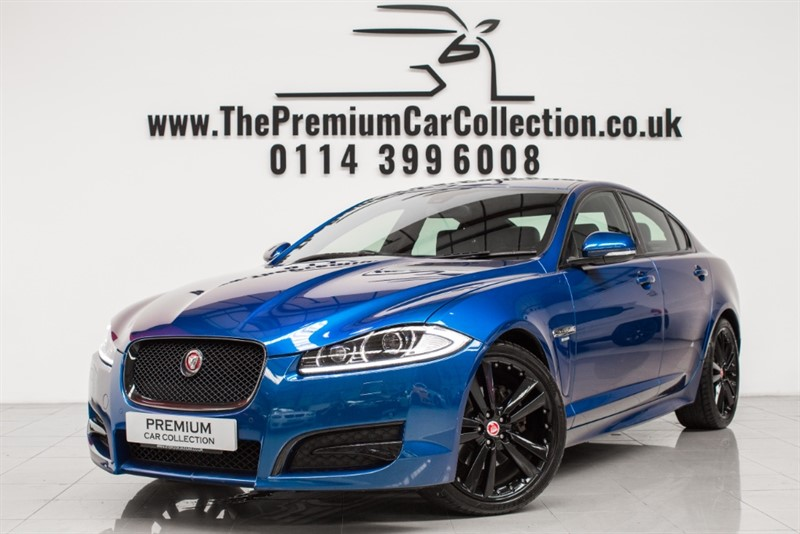 used Jaguar XF D R-SPORT BLACK SAT NAV ONE OWNER MERIDIAN