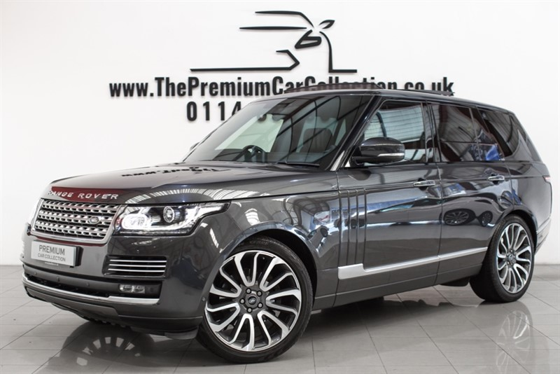 used Land Rover Range Rover TDV6 AUTOBIOGRAPHY PAN ROOF MASSAGE LEATHER 22
