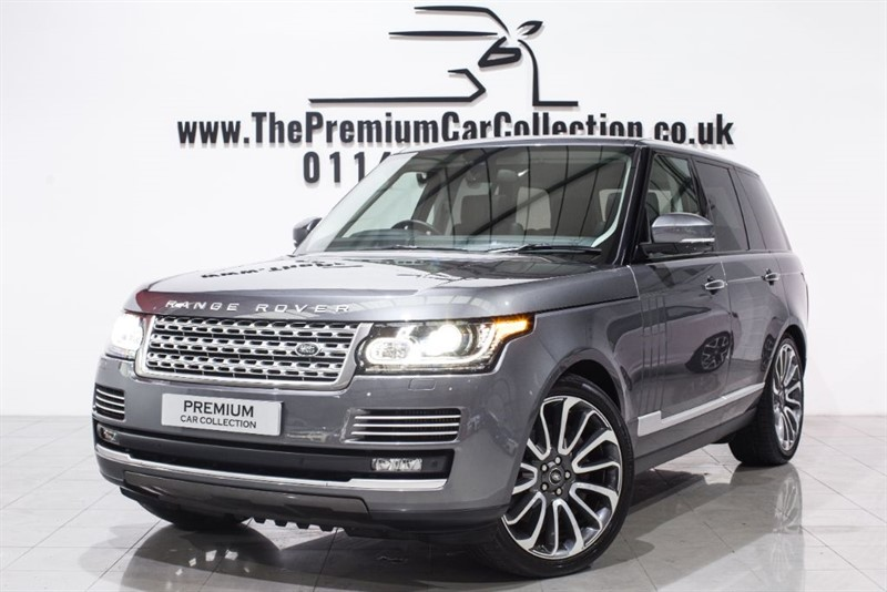 used Land Rover Range Rover SDV8 VOGUE SE 22' ALLOYS PAN ROOF