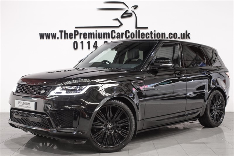 used Land Rover Range Rover Sport SDV6 HSE DYNAMIC PAN ROOF SAT NAV ONE OWNER SIDE STEPS