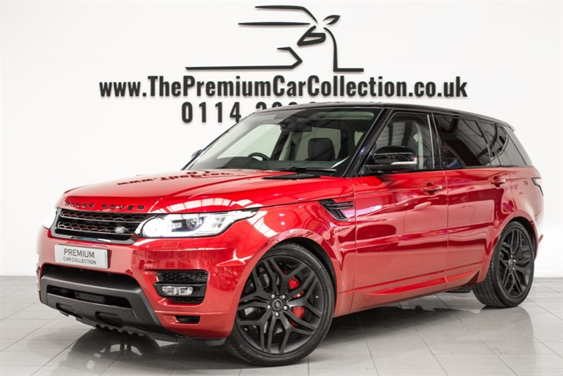 used Land Rover Range Rover Sport SDV6 HSE PAN ROOF SAT NAV 22' STEALTH ALLOYS