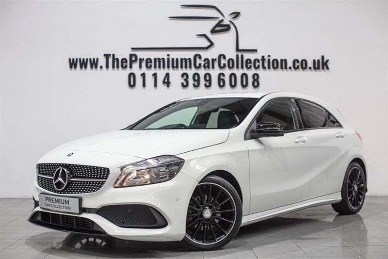 used Mercedes 200 A  D AMG LINE EXECUTIVE EXCLUSIVE HEATED LEATHER SAT NAV NIGHT PACK