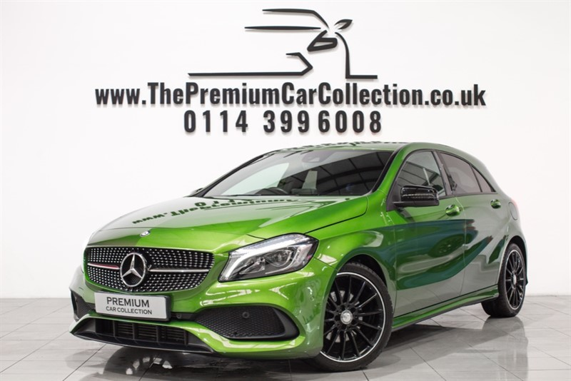used Mercedes 200 A  D AMG LINE PREMIUM SAT NAV NIGHT PACKAGE 18' AMG ALLOYS