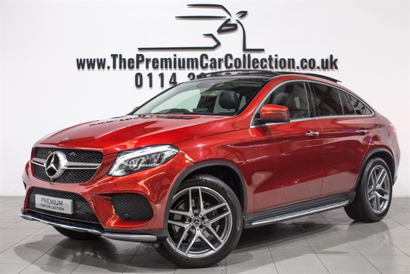 used Mercedes 350 GLE  D 4MATIC AMG LINE PREMIUM PLUS PAN ROOF HEATED LEATHER SAT NAV 21'S