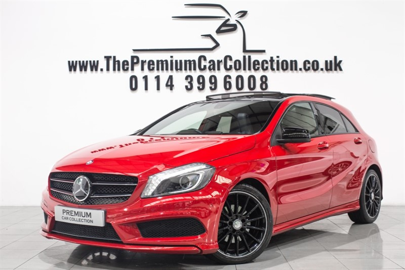used Mercedes A200 CDI AMG SPORT PAN ROOF SAT NAV PRIVACY DAB