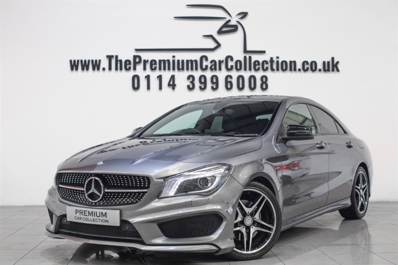 used Mercedes  CLA220 CDI AMG SPORT SAT NAV NIGHT PACK LEATHER