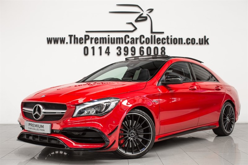 used Mercedes  AMG CLA 45 4MATIC PAN ROOF ONE OWNER PERFORMANCE EXHAUST