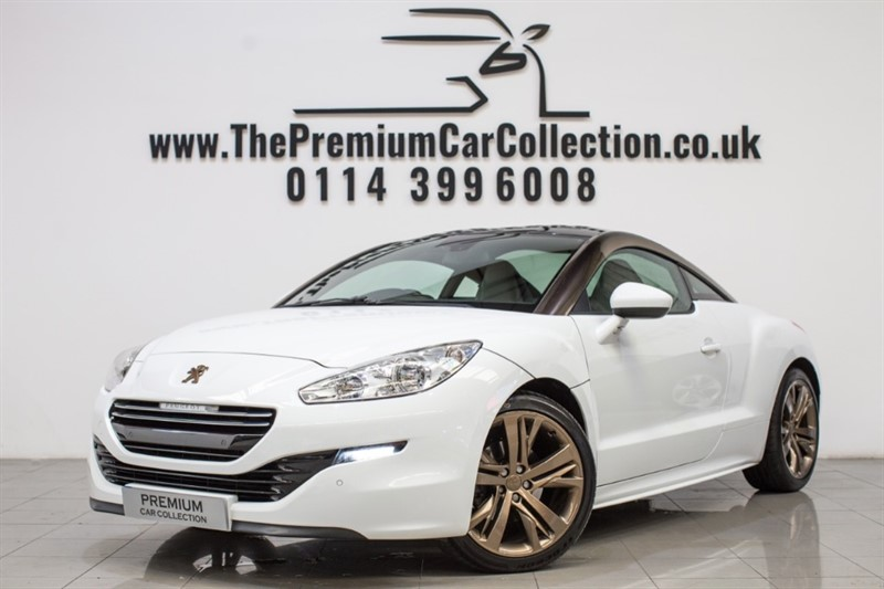 used Peugeot RCZ THP GT 19' TECHNICAL ALLOYS CHAMPAGNE ROOF BARS