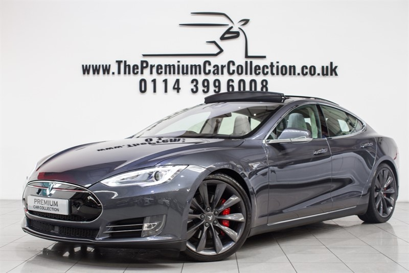 used Tesla Model S P90D AWD LUDICROUS + PAN ROOF SAT NAV 21' ALLOYS