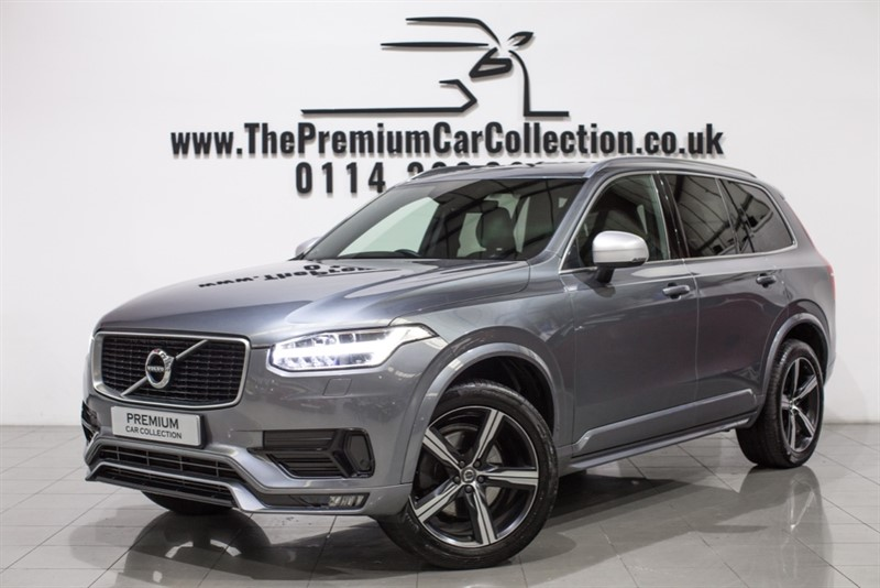 used Volvo XC90 D5 POWERPULSE R-DESIGN AWD SAT NAV 20' ALLOYS ONE OWNER FVSH