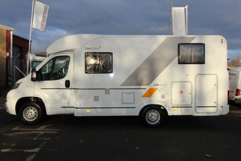 used Adria  Sunliving Lido S42SL 4 Berth Motorhome for sale in perth-scotland
