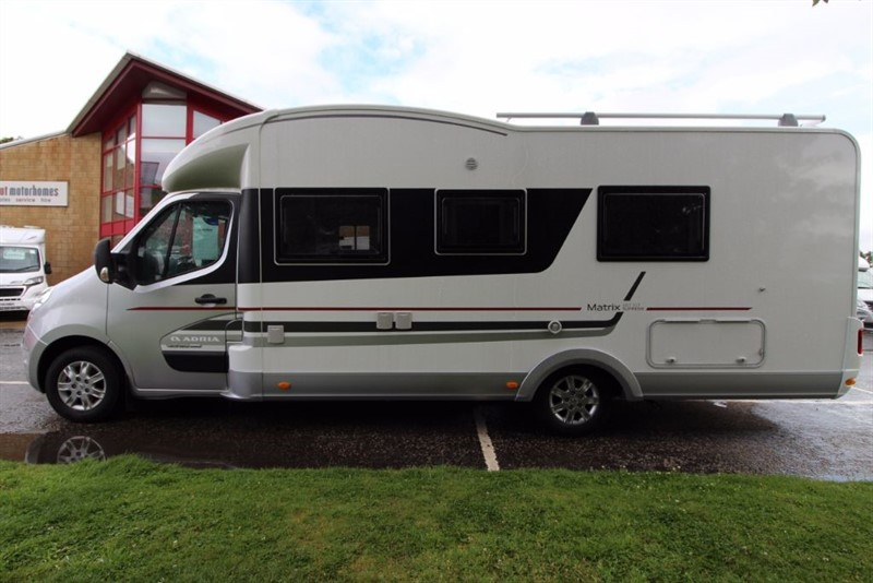 used Adria  Matrix Supreme 687 SLT 6 Berth Motorhome in perth-scotland
