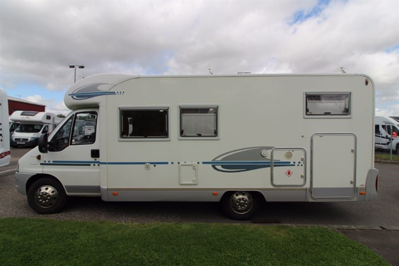 used Adria  Coral S 660 SL 3 Berth Motorhome in perth-scotland