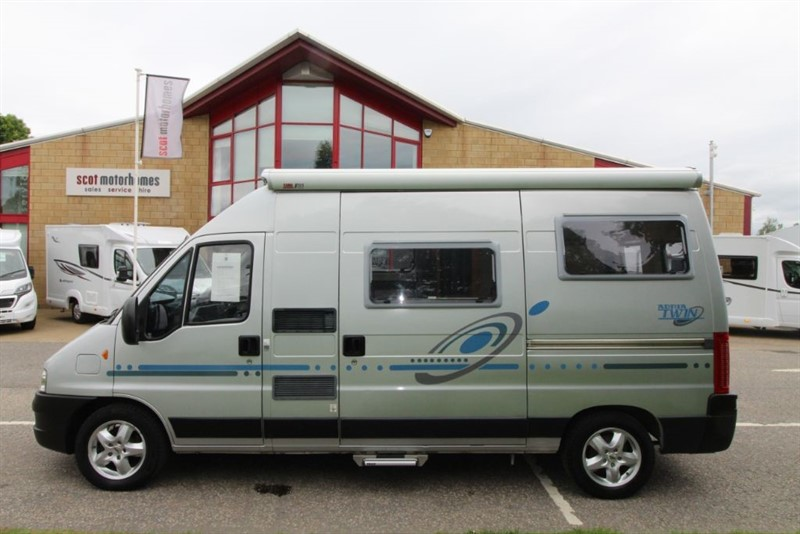 used Adria  Twin 3 Berth Campervan in perth-scotland