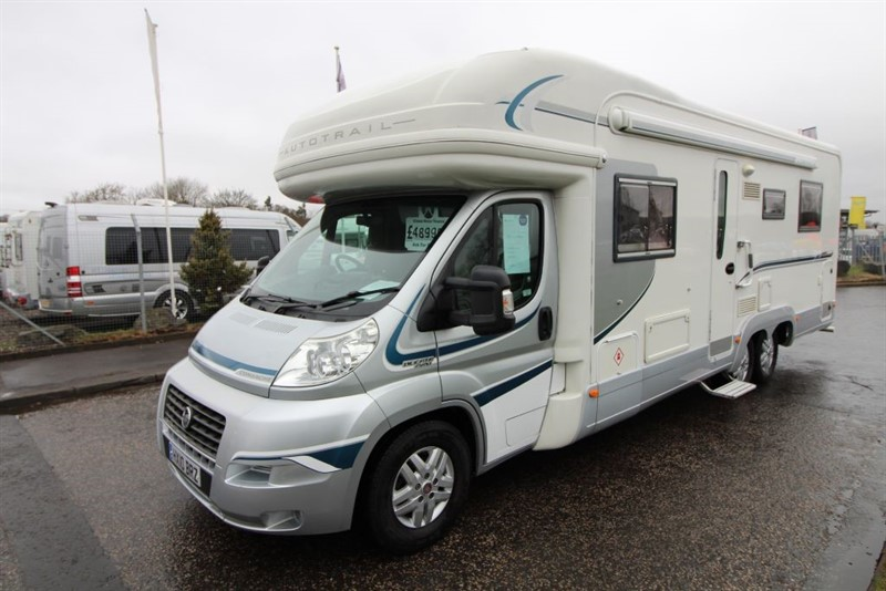 used Autotrail  Frontier Comanche 4 Berth Motorhome in perth-scotland