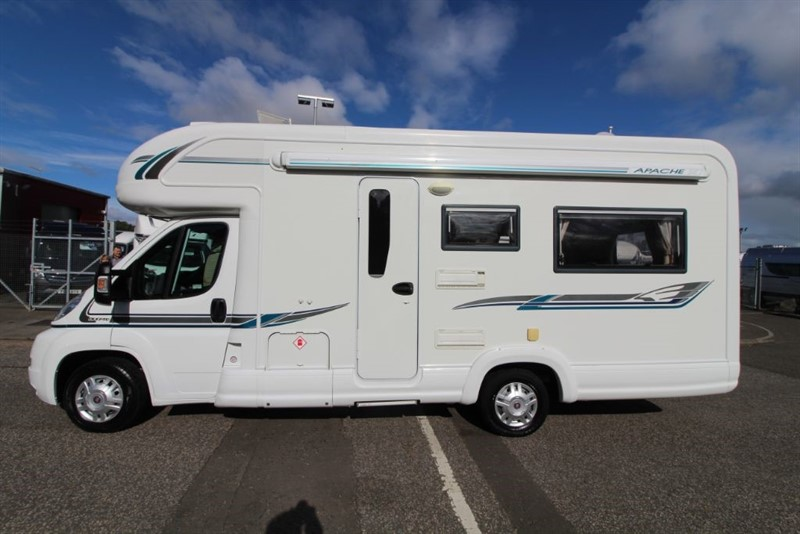 used Autotrail  Apache 634U 2 Berth Motorhome for sale in perth-scotland