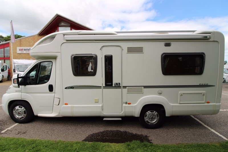 used Bessacarr  E660 4 Berth Motorhome in perth-scotland