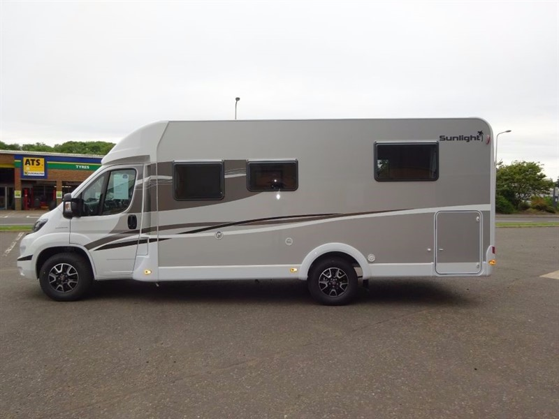 used Dethleffs  Sunlight T69L 5 Berth Motorhome in perth-scotland
