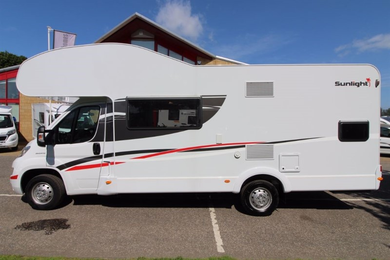 used Dethleffs  Sunlight A72 6 Berth Motorhome in perth-scotland