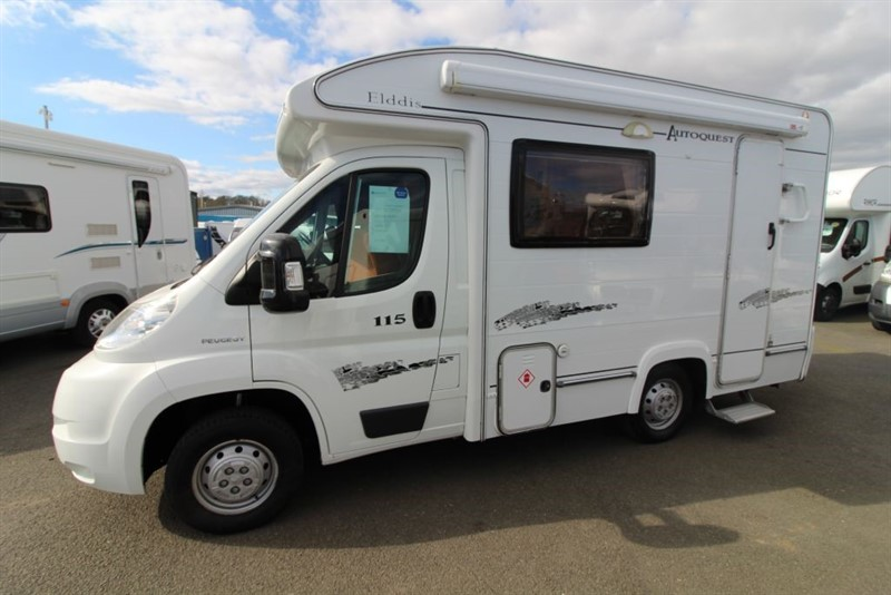 used Elddis  Autoquest 115 2 Berth Motorhome for sale in perth-scotland