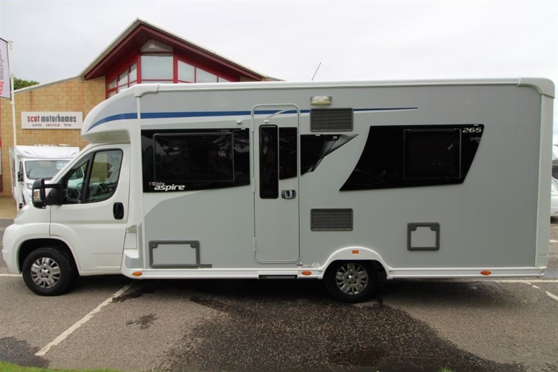 used Elddis  Aspire 265 4 Berth Motorhome in perth-scotland