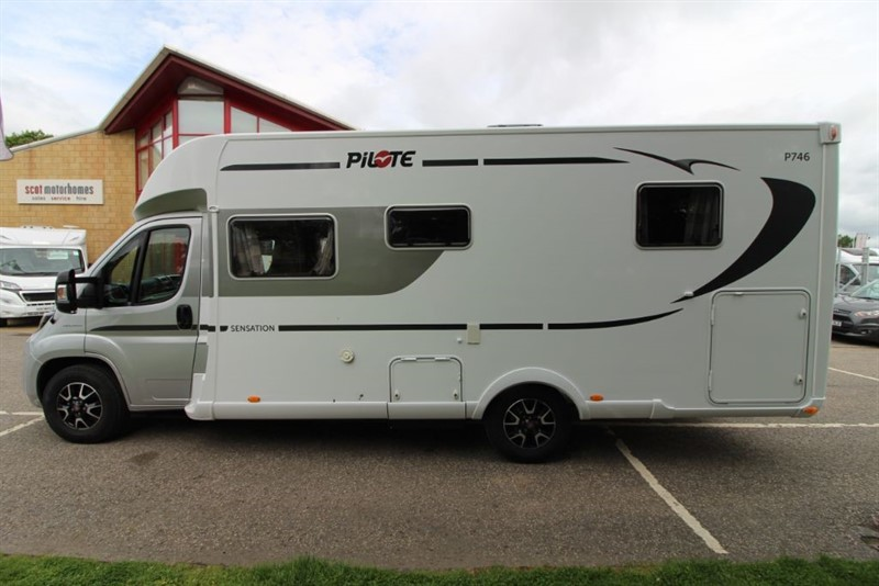 used Fiat Ducato Pilote P746C Sensation 4 Berth Motorhome in perth-scotland