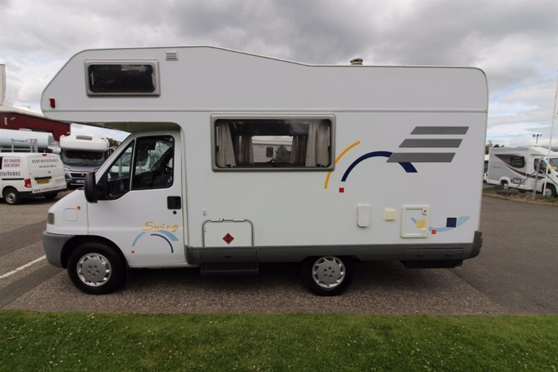 used Hymer  Swing 5 Berth in perth-scotland
