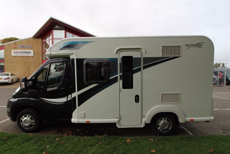 used Bailey  Approach Compact 540 3 Berth Motorhome for sale in perth-scotland