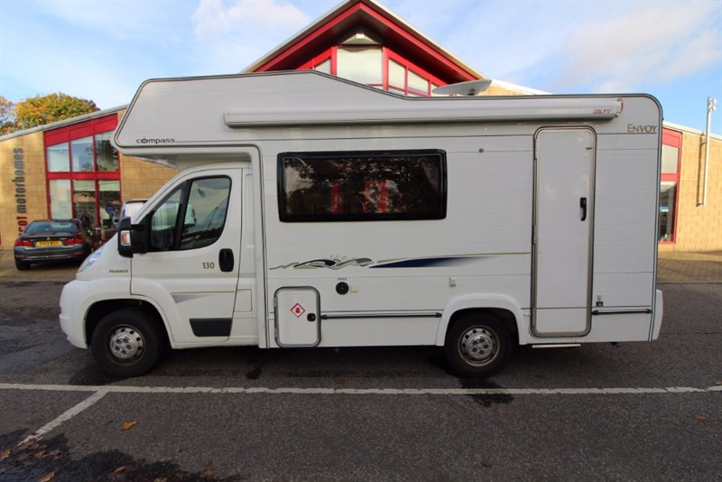 used Peugeot Boxer Compass Envoy 130 5 Berth Motorhome for sale in perth-scotland