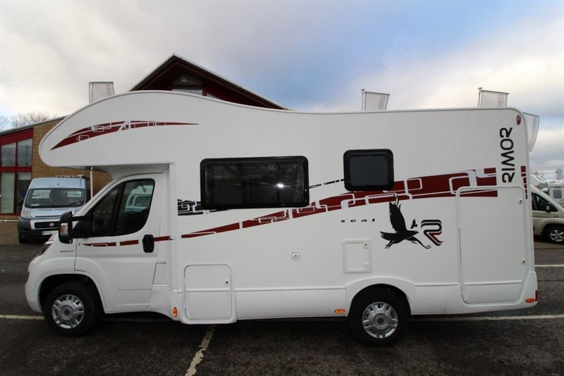 used Rimor  Seal 7 6 Berth Motorhome for sale in perth-scotland