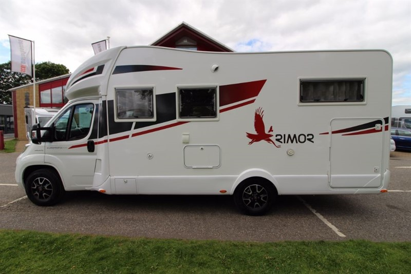 used Rimor  Europeo 95 Plus 5 Berth Motorhome in perth-scotland