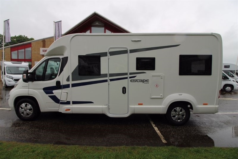 used Swift  Escape 685 6 Berth motorhome in perth-scotland