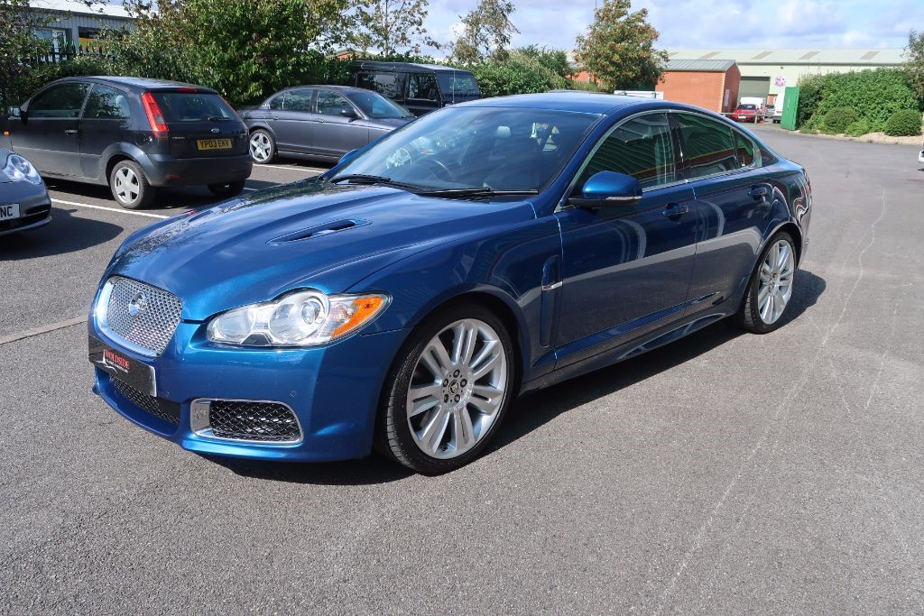 used kyanite blue metallic jaguar xfr for sale lincolnshire. Black Bedroom Furniture Sets. Home Design Ideas