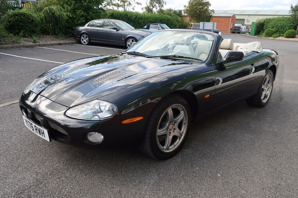 used anthracite metallic jaguar xkr for sale lincolnshire. Black Bedroom Furniture Sets. Home Design Ideas